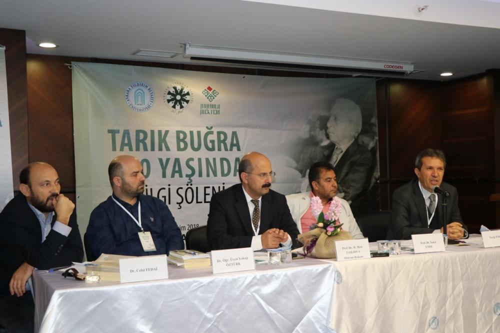 Tarık Buğra 100 Yaşında Bilgi Şöleni galerisi resim 59