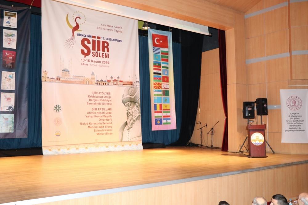 Türkçenin 13. Uluslararası Şiir Şöleni galerisi resim 1