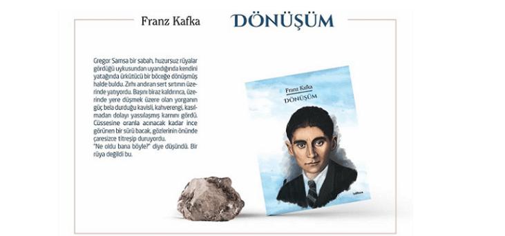 Franz Kafka'nın Dönüşüm Adlı Eseri İzdiham Etiketiyle Yayımlandı