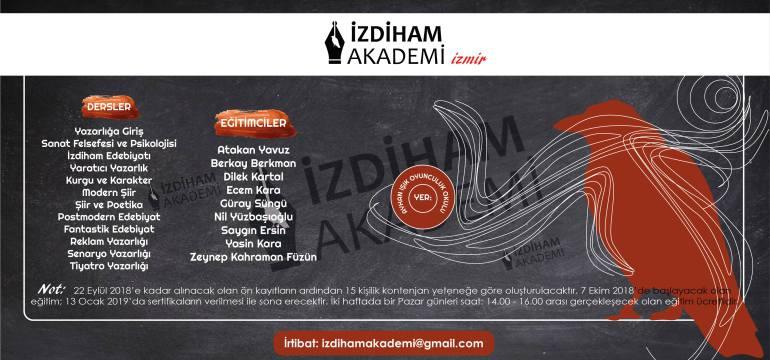 İzdiham Akademi İzmir'de Eğitimlere Başlıyor