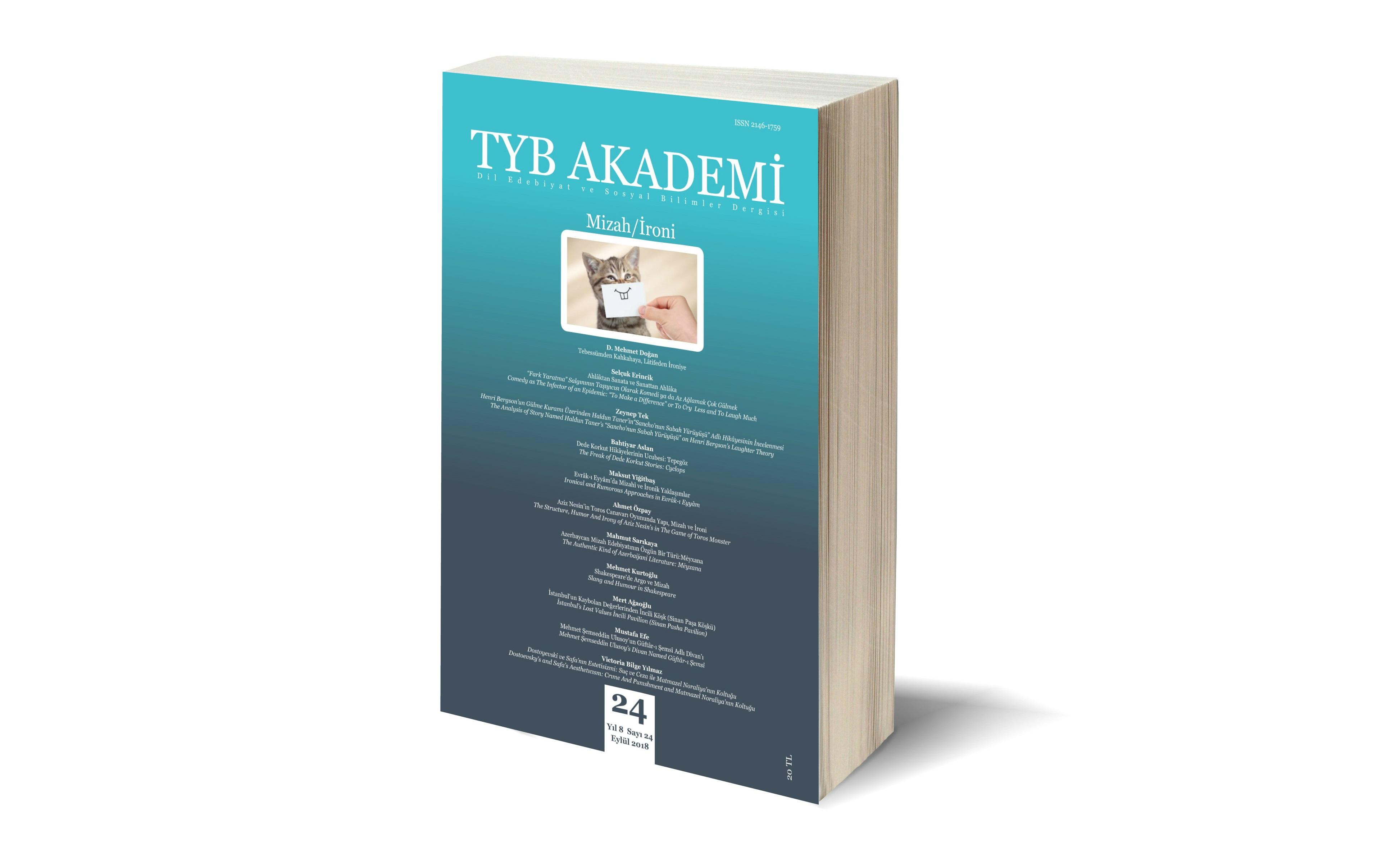TYB Akademi, Mizah/İroni sayısı çıktı