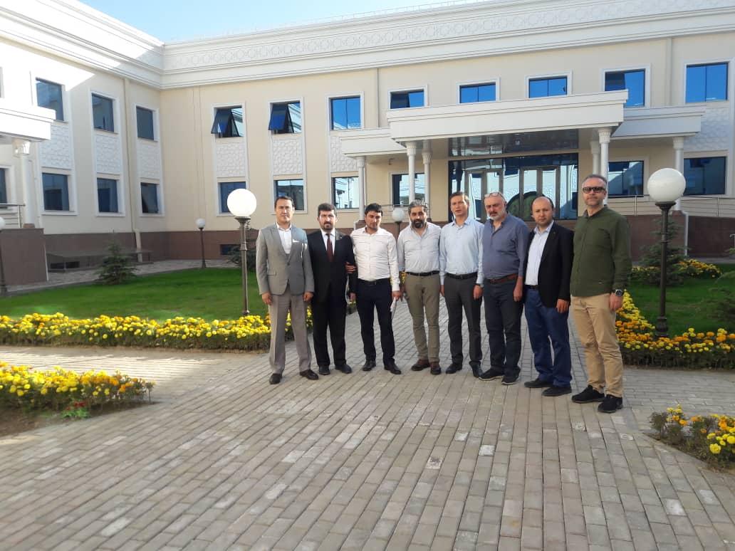 TYB Genel Başkanı Arıcan'dan Özbekistan Yazarlar Birliğini Ziyaret