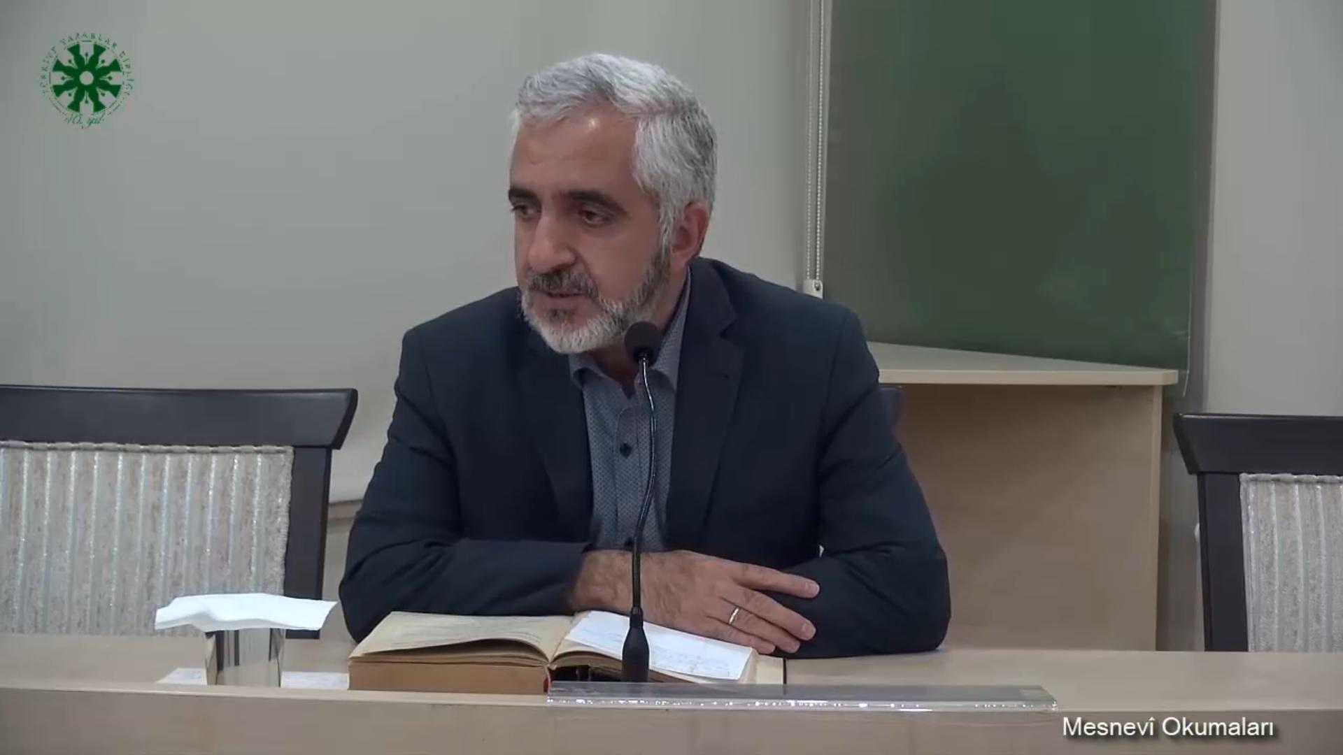 Mesnevî Okumaları - 2 - Prof. Dr. Zülfikar Güngör (video)