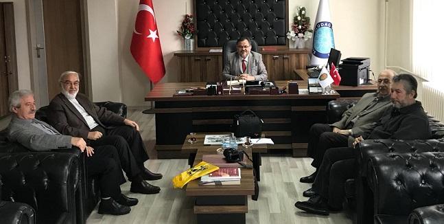 TYB Heyeti Dekan Prof. Dr. Bilal Kemikli'yi Ziyaret Etti
