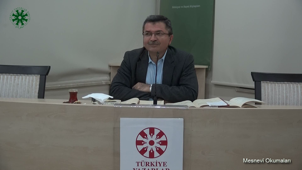 Mesnevî Okumaları - 4 - Dr. Fahrettin Coşguner (video)