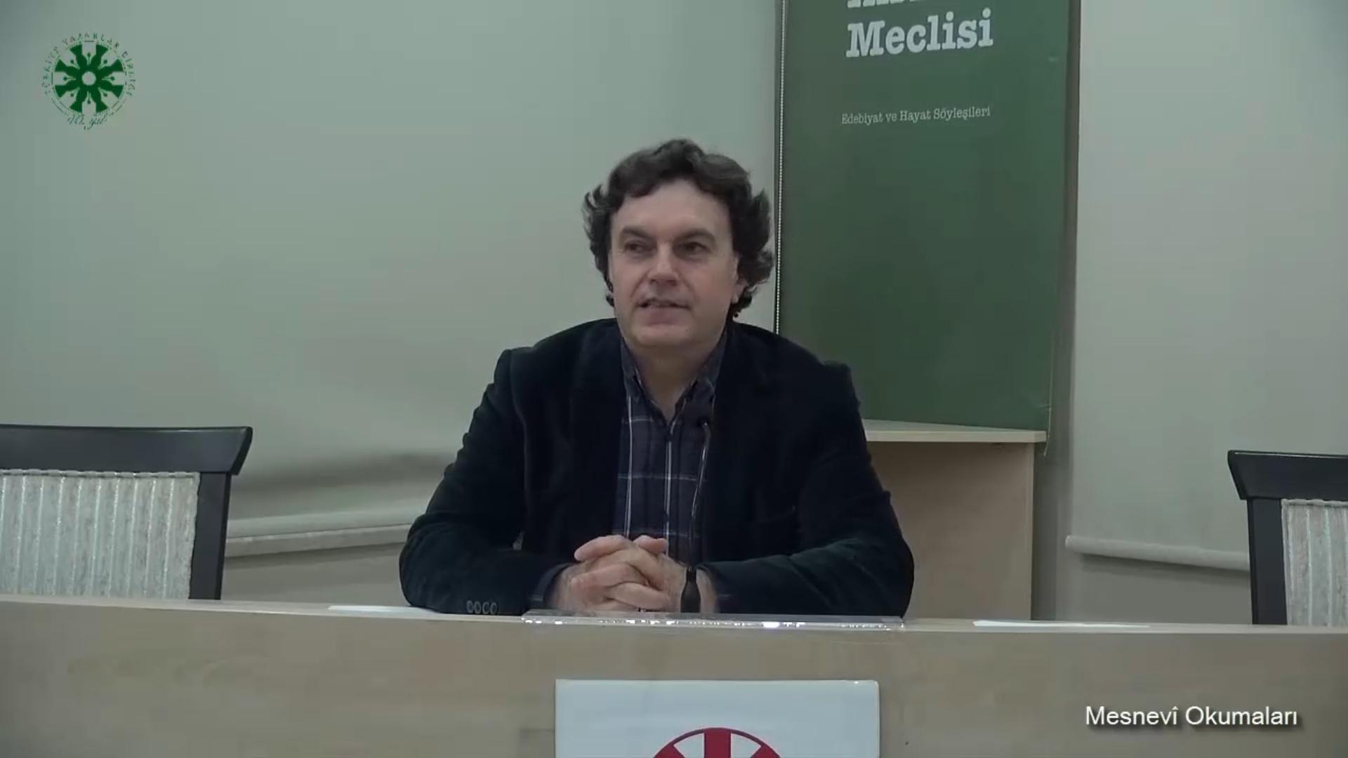 Mesnevî Okumaları - 6 - Prof. Dr. Hicabi Kırlangıç (video)