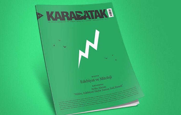 Karabatak dergisinin Kasım Aralık 2018 sayısı çıktı