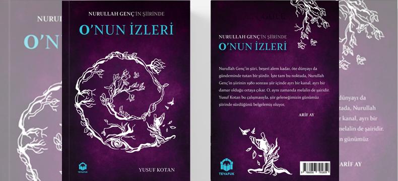 """Yusuf Kotan'ın yeni kitabı """"O'nun İzleri"""" çıktı"""