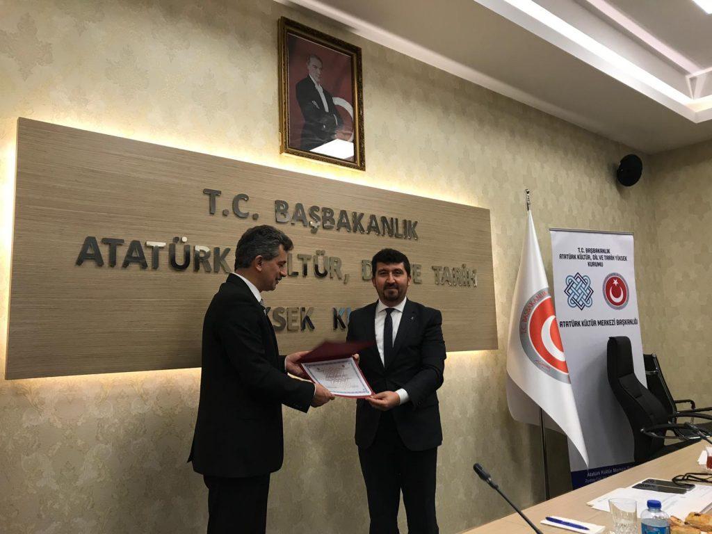 Arıcan,  Atatürk Kültür Merkezi Bilim Kuruluna Seçildi