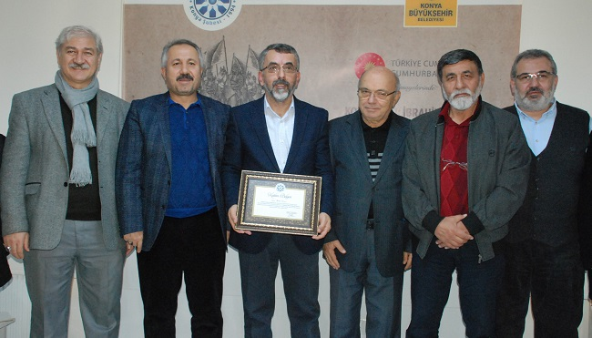 Konya Şubesinde Türklerin Mirası Belgeseli Konuşuldu