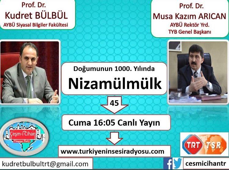 TYB Genel Başkanı Arıcan: Türkiye'nin Sesi Radyosunda canlı yayında