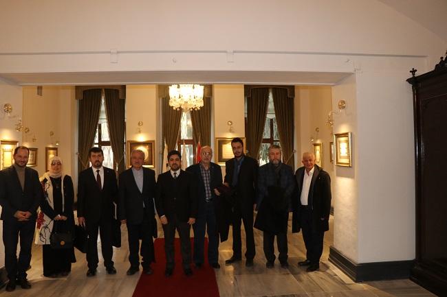 TYB Heyeti İslâm Tarih, Sanat ve Kültür Araştırma Merkezi'ni ziyaret etti