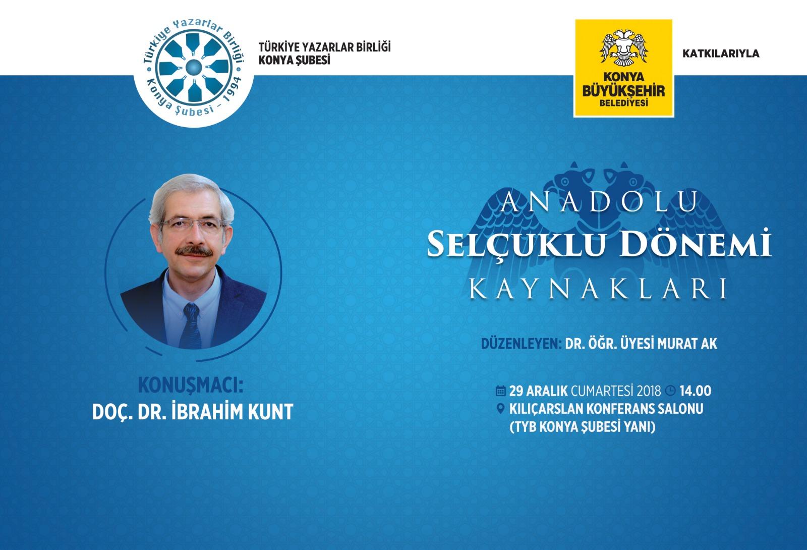 Anadolu Selçuklu Dönemi Kaynakları