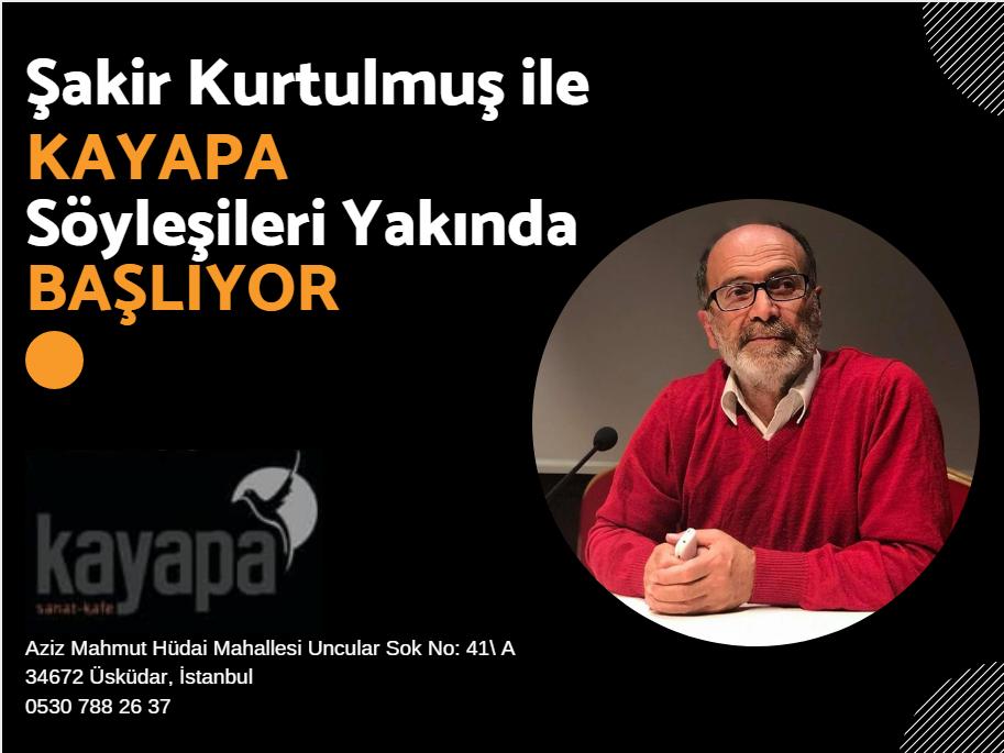 Kayapa Kültür Edebiyat Söyleşileri Başlıyor