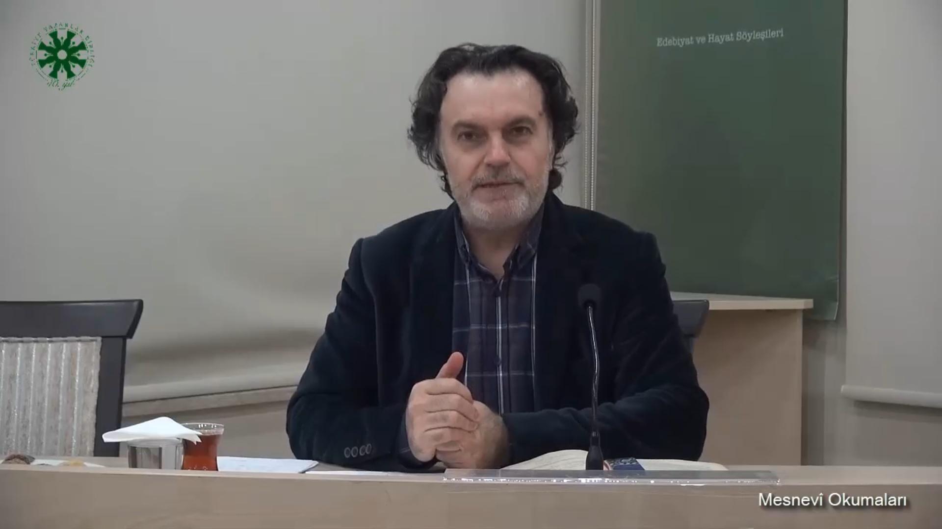 Mesnevî Okumaları - 11 - Prof. Dr. Hicabi Kırlangıç (video)