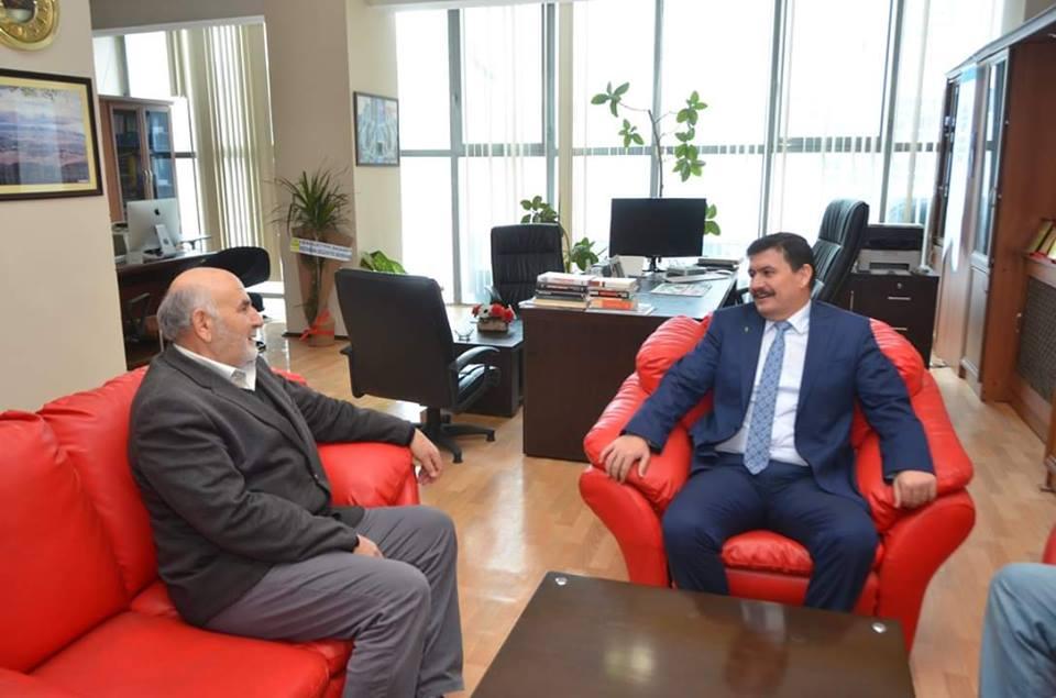 Vali Arslantaş Erzincan Şubesi ziyaret etti