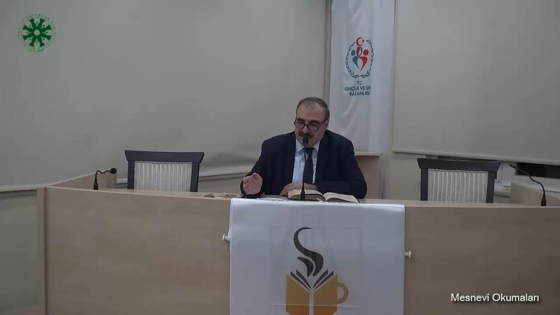 Mesnevî Okumaları - 13 - Dr. Yakup Şafak (video)