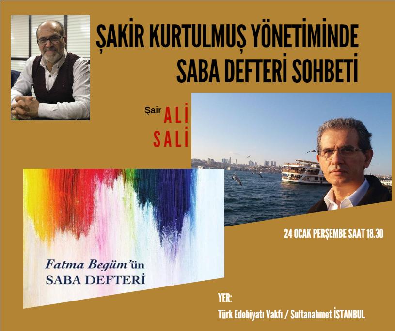 Ali Sali ile Yeni Çıkan Kitabı Etrafında Söyleşi