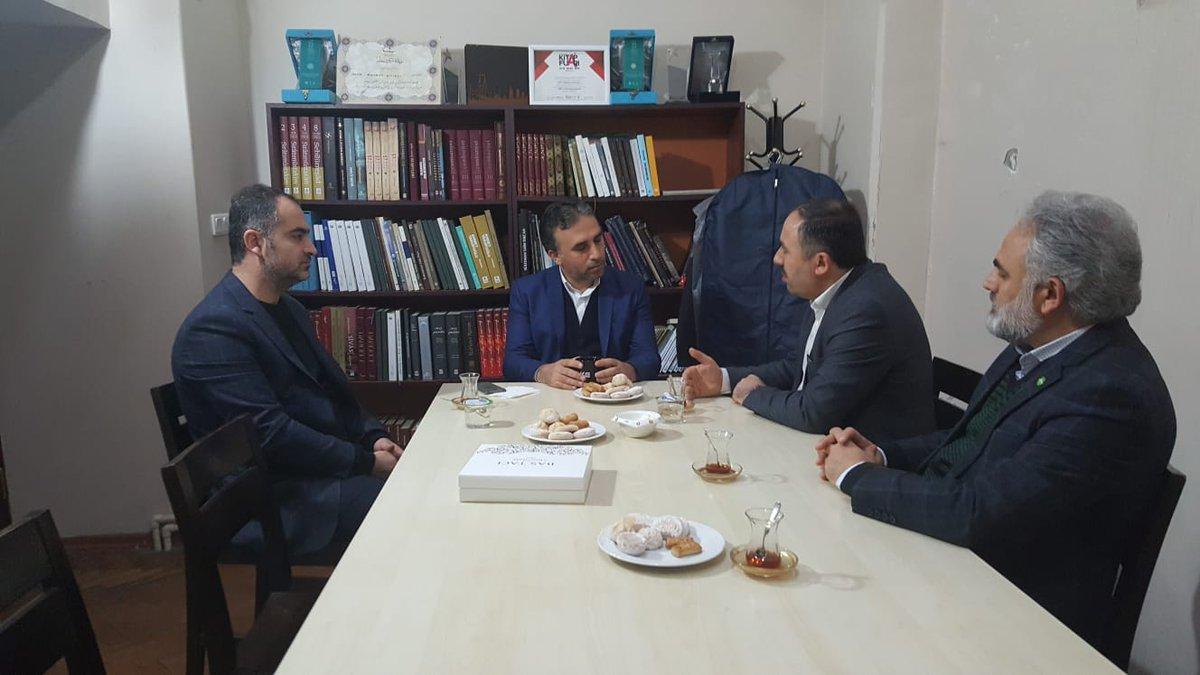 HÜDAPAR'dan TYB İstanbul Şubesini Ziyaret