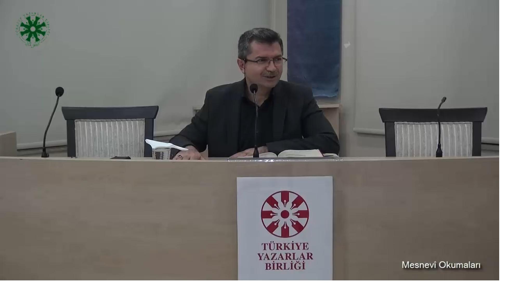 Mesnevî Okumaları - 14 - Dr. Fahrettin Coşguner (video)