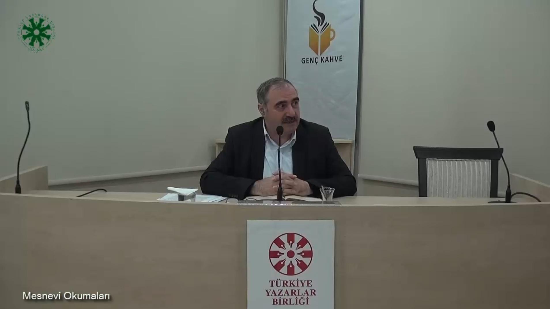 Mesnevî Okumaları - 18 - Dr. Yakup Şafak (video)