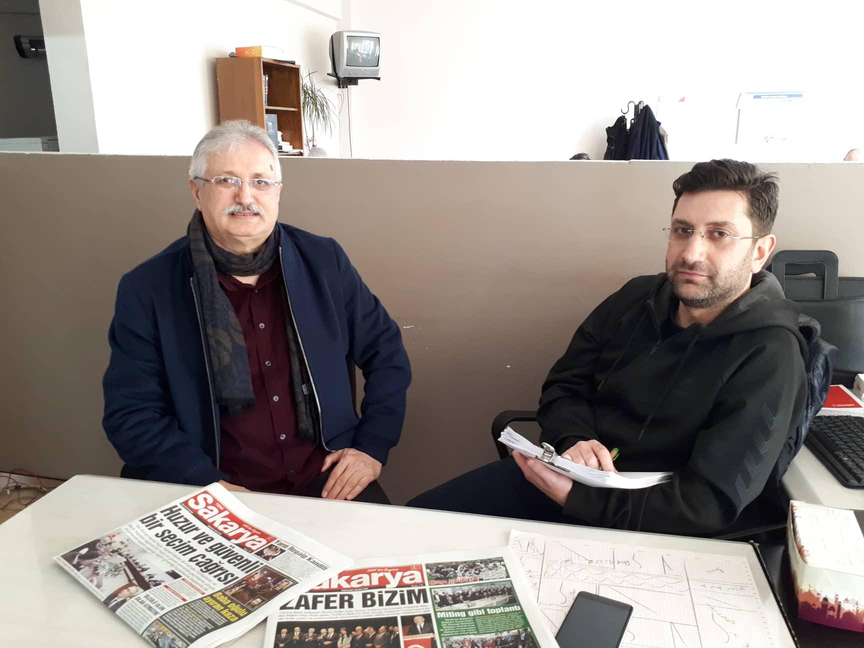 Yazar Fahri Tuna İle 'Yeni Sakarya'da 30 Yıl' Röportajı