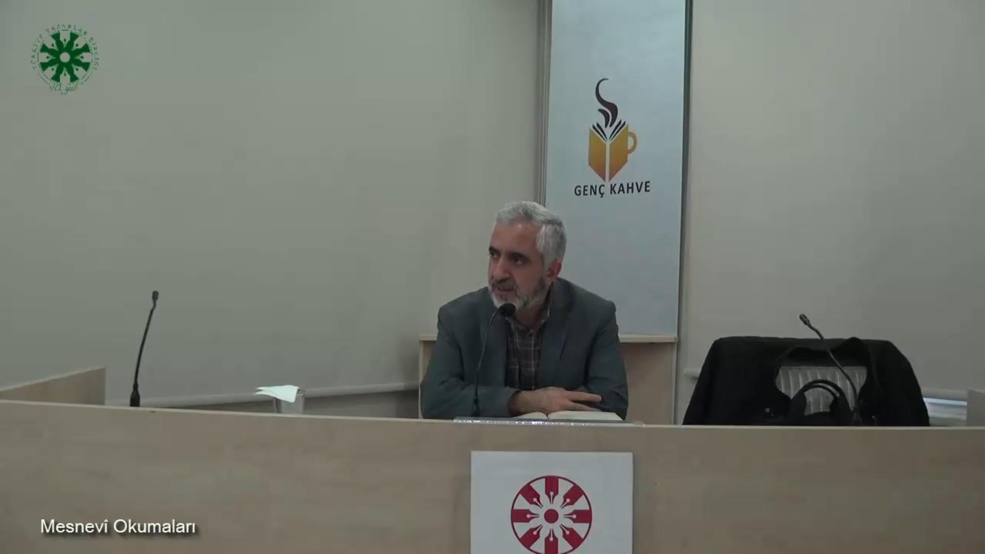 Mesnevî Okumaları - 22 - Prof. Dr. Zülfikar Güngör (video)