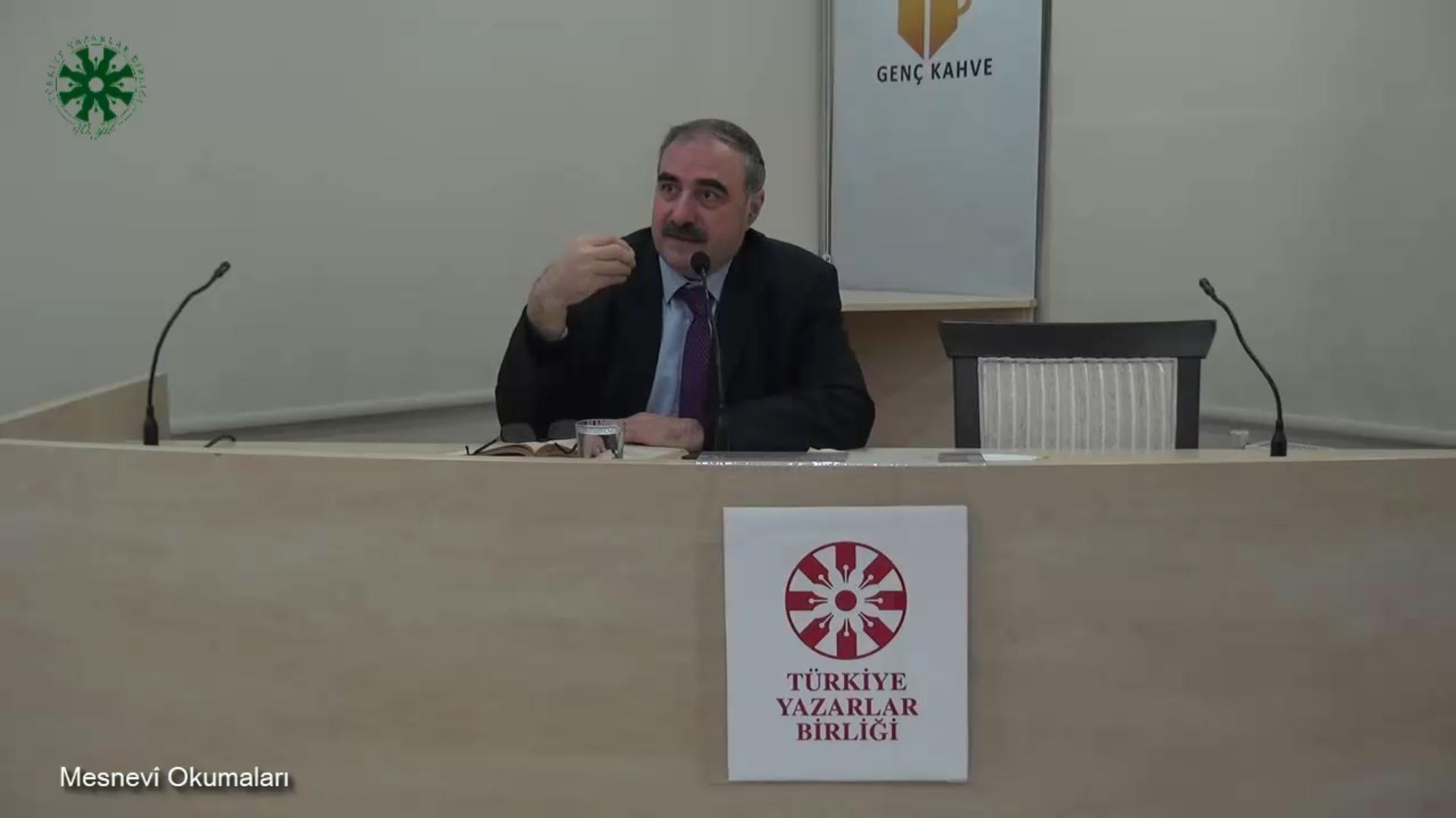 Mesnevî Okumaları -23- Dr. Yakup Şafak (video)