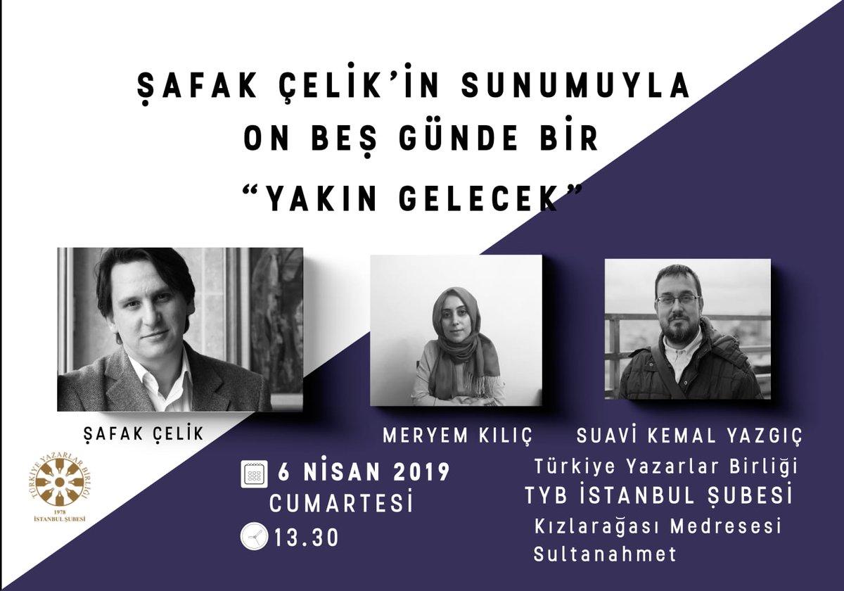"""""""Yakın Gelecek"""" On Beş Günde Bir TYB İstanbul'da"""