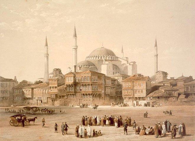 İstanbul'un siluetine atılan Sinan imzası: Ayasofya minareleri