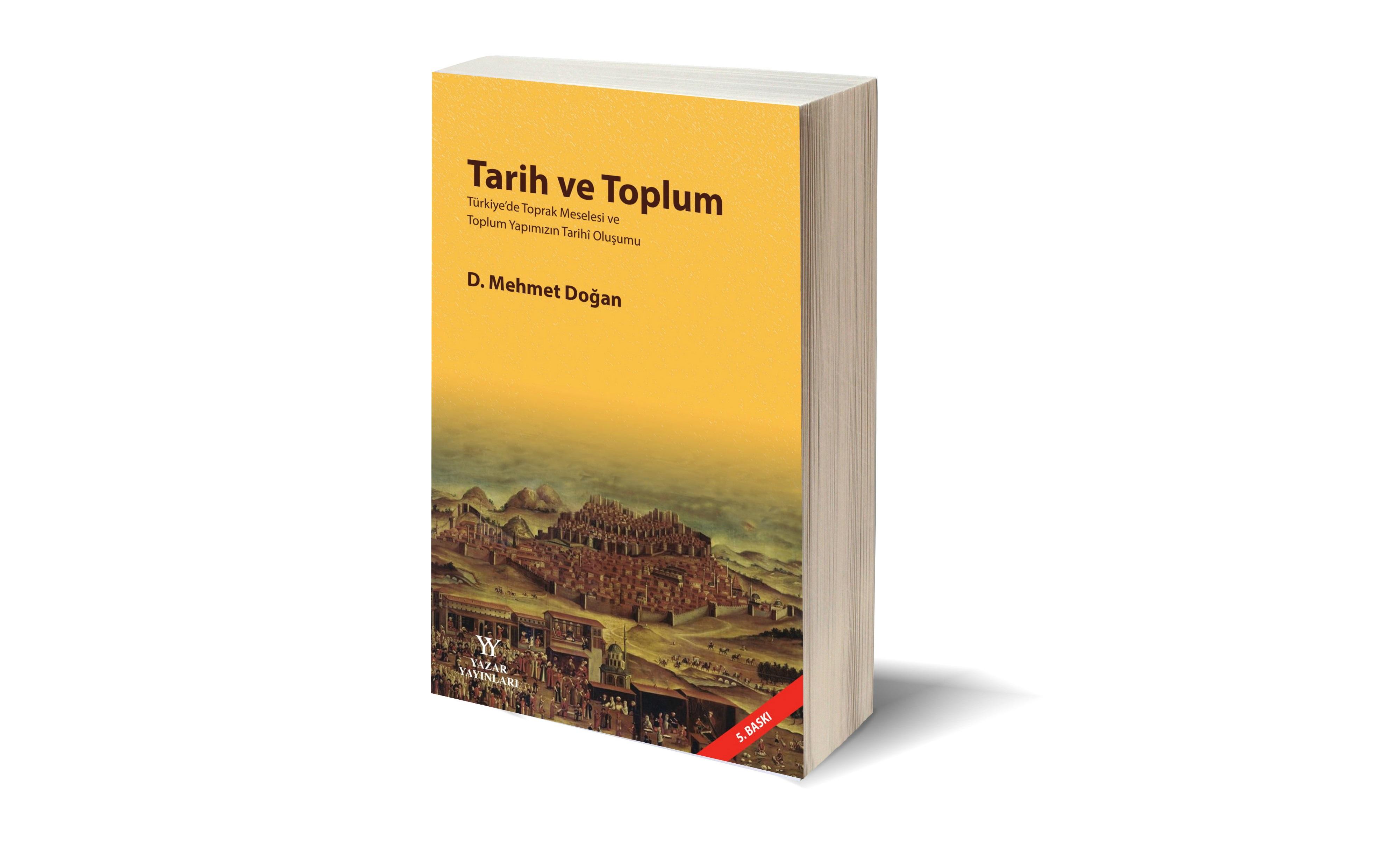 """""""Tarih ve Toplum"""" kitabının 5.Baskısı Çıktı"""