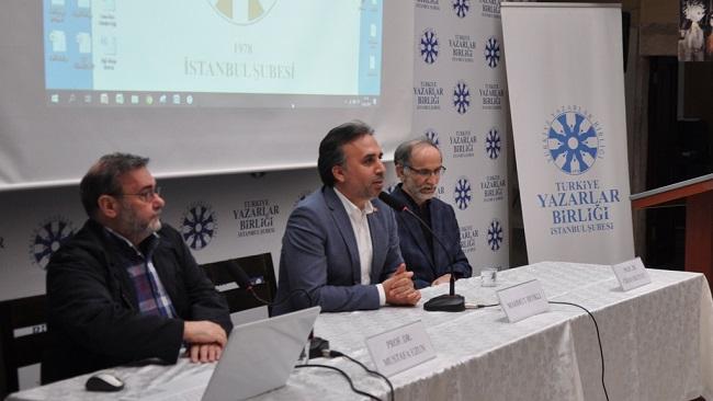 TYB İstanbul'da  Ahmet Muhtar Büyükçınar Konuşuldu
