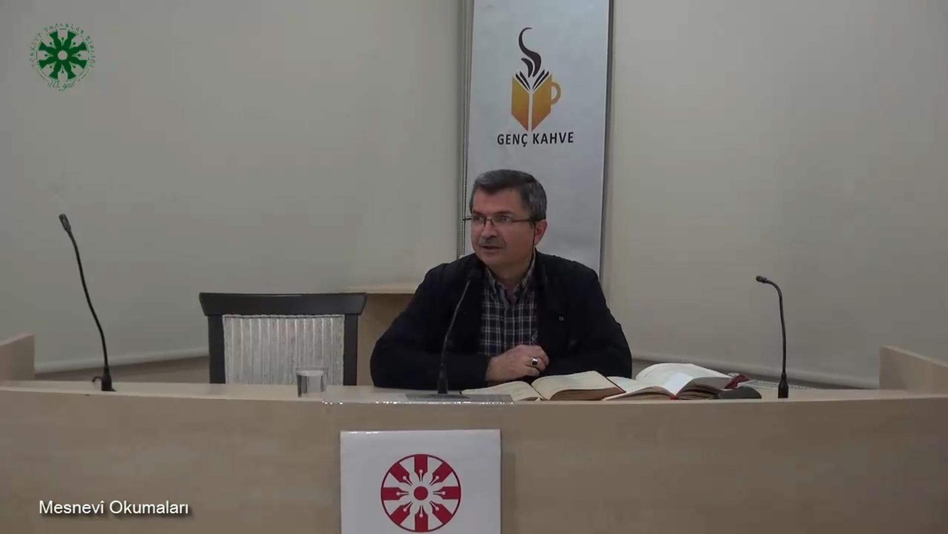 Mesnevî Okumaları -24- Dr. Fahrettin Coşguner (video)