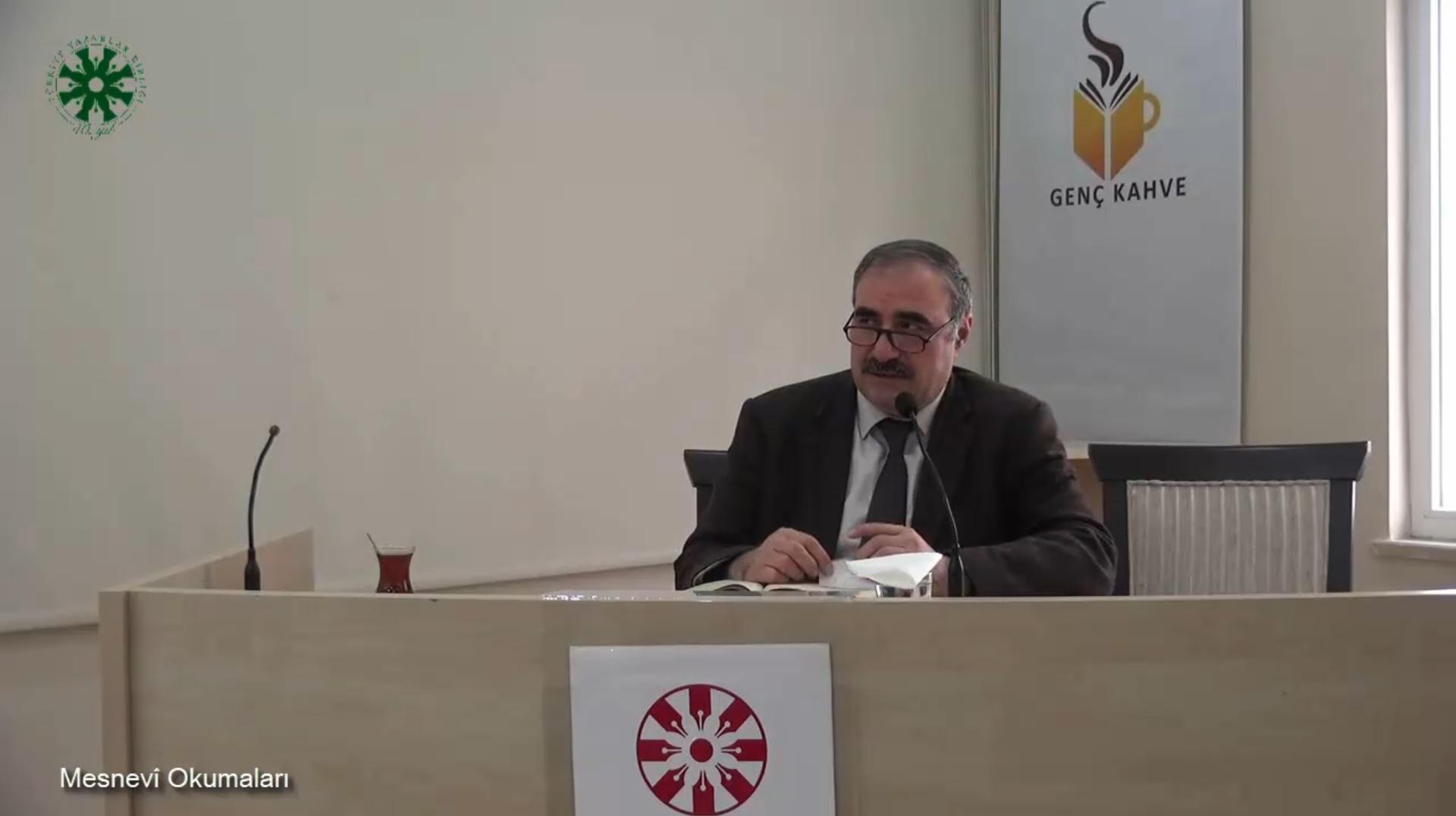 Mesnevî Okumaları -25- Dr. Yakup Şafak (video)