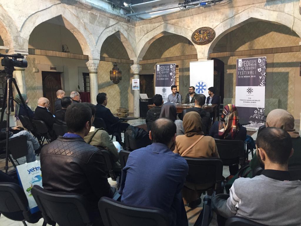 3. Yedi Tepe Yedi Mekan Genç Edebiyat Festivali TYB İstanbul'da Gerçekleşti