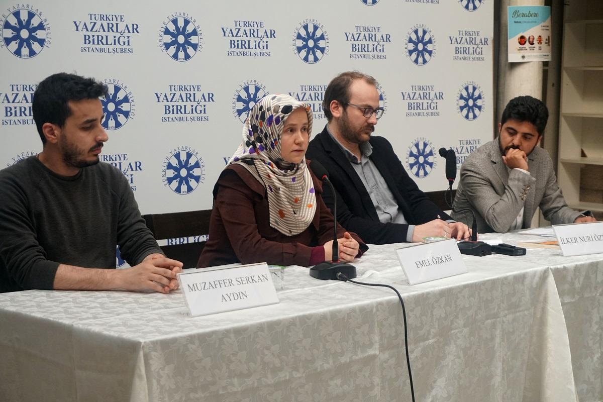 TYB İstanbul'da Şiir Üstüne Söyleşildi