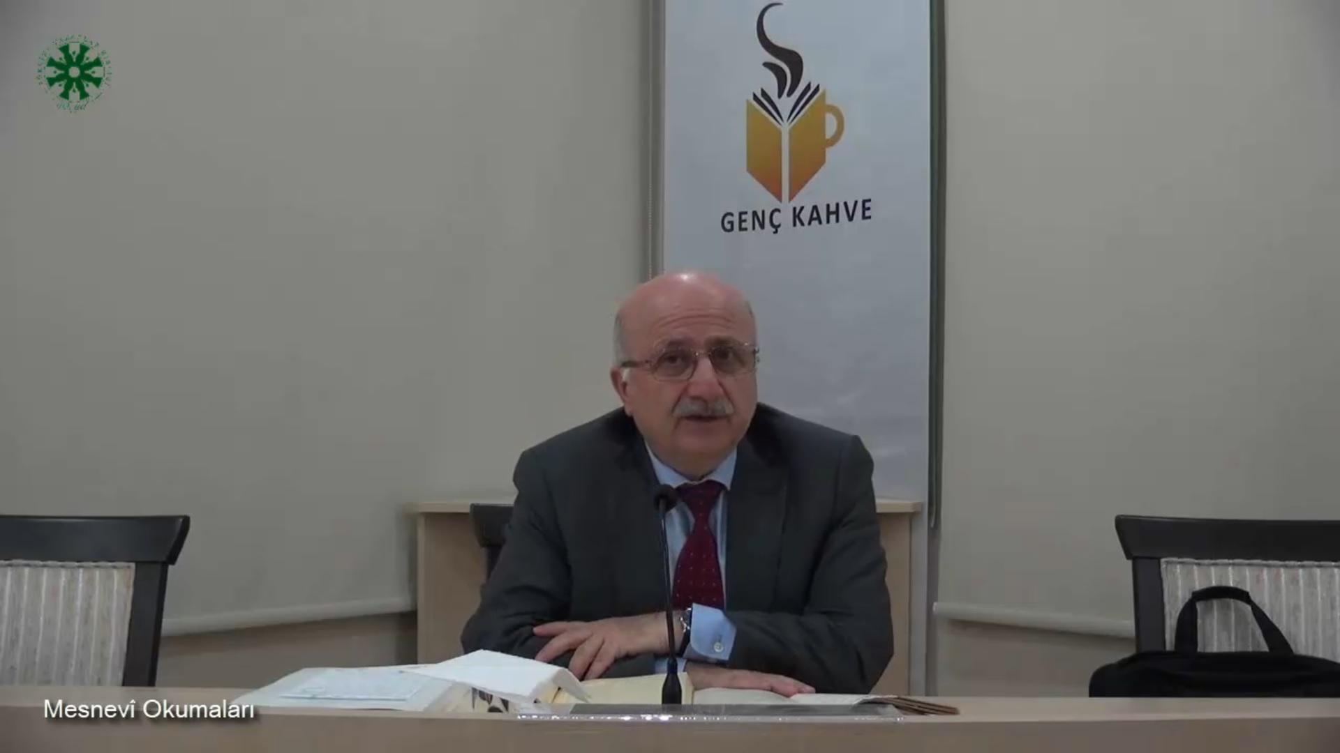Mesnevî Okumaları -28- Prof. Dr. Adnan Karaismailoğlu (video)