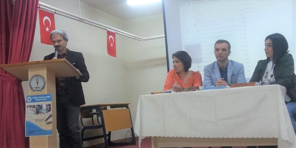 Trabzon 'da okul söyleşileri devam ediyor