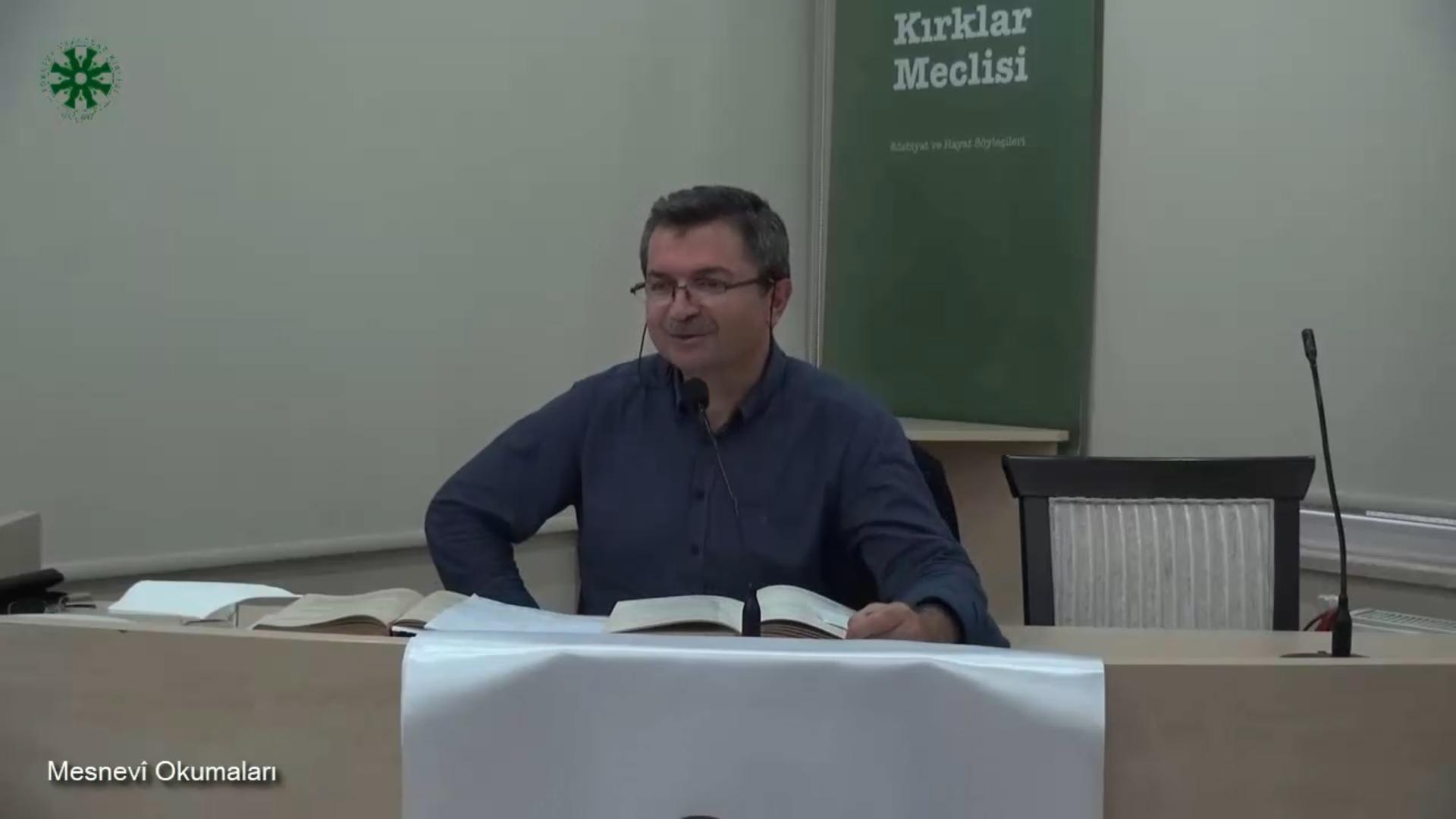 Mesnevî Okumaları -29- Dr. Fahrettin Coşguner (video)
