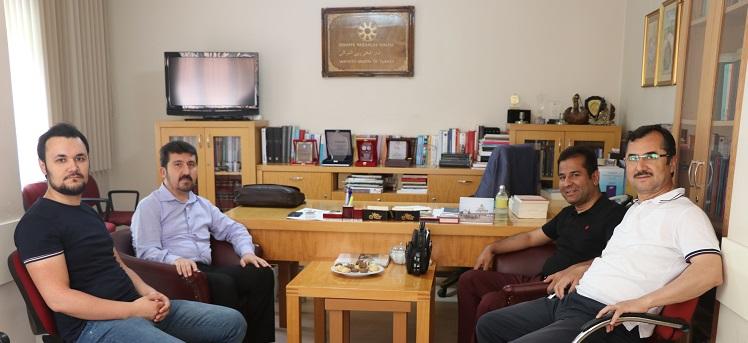 Uzel'lerden Genel Başkan Arıcan'ı Ziyaret