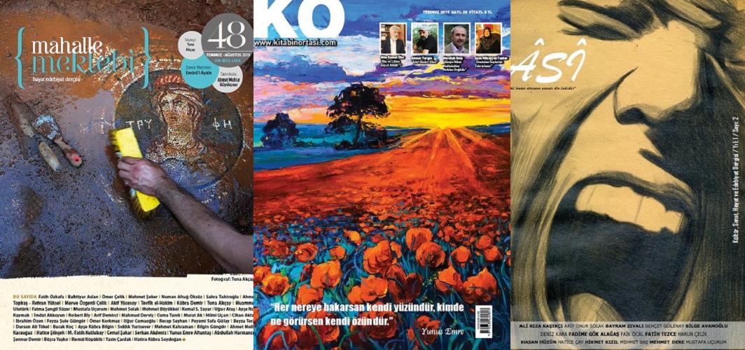 Temmuz 2019 dergilerine genel bir bakış-1