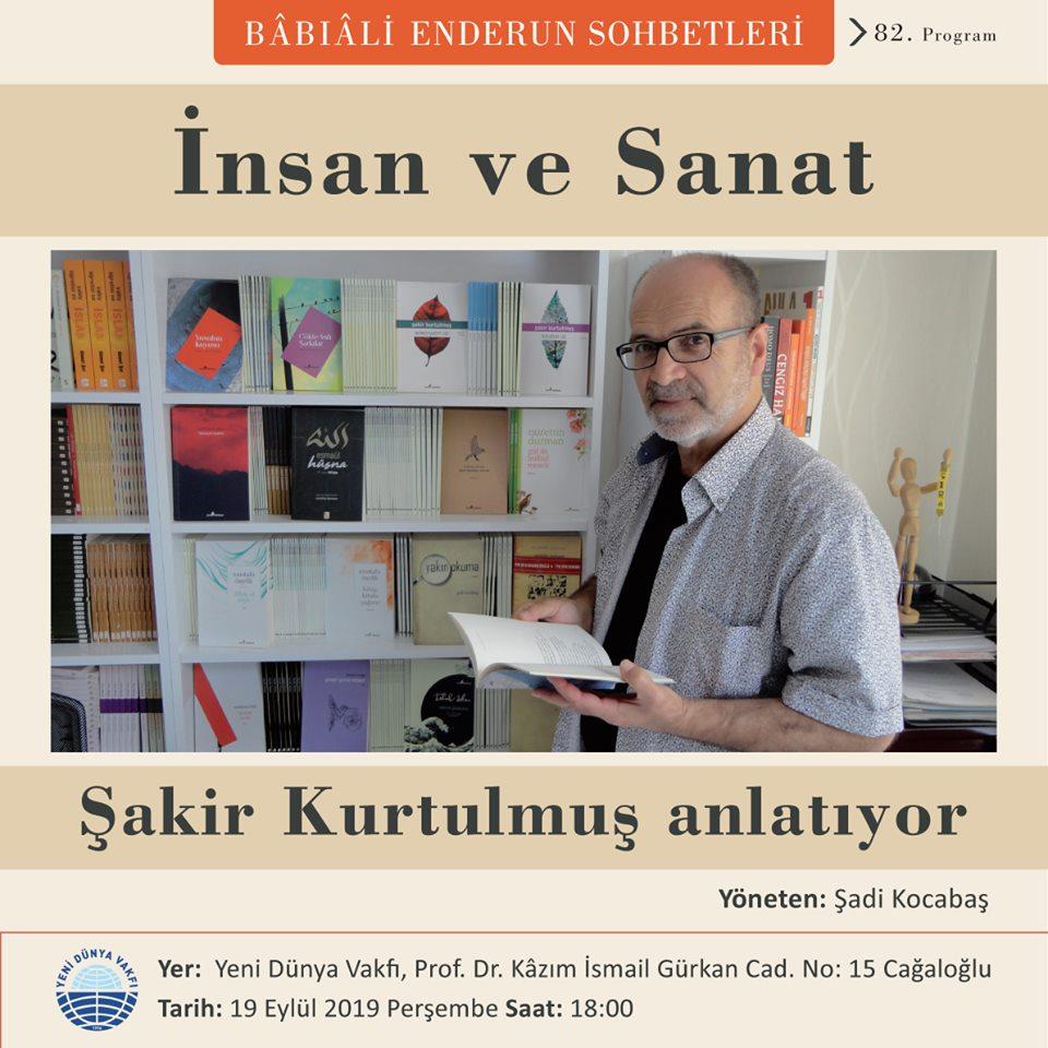 """Yeni Dünya Vakfı'nda """"İnsan ve Sanat""""ı anlatacak"""