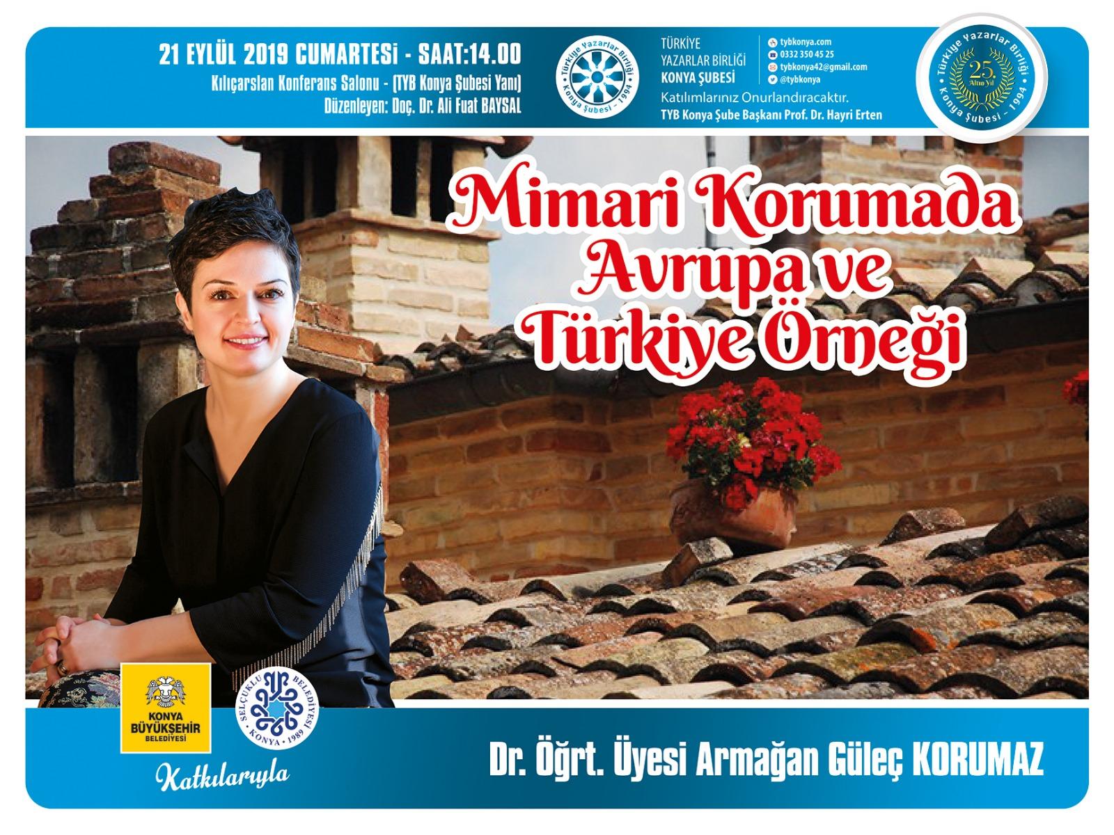 Mimari Korumada Avrupa ve Türkiye Örneği
