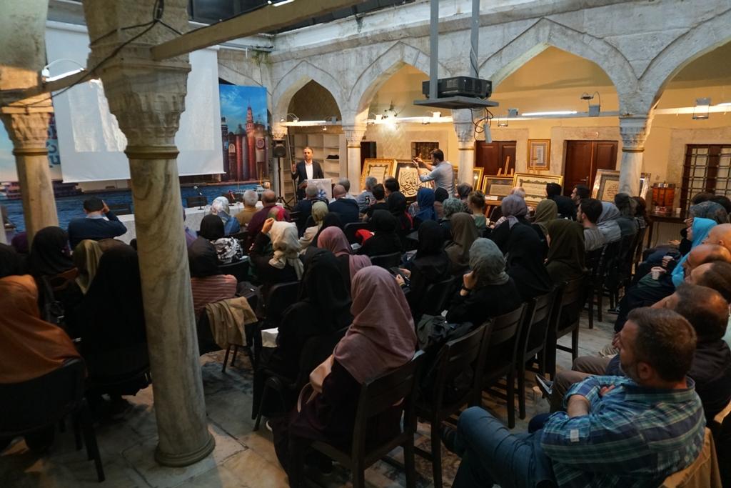 TYB İstanbul Şubesi sezonu 'Kudüs'ün Işıkları' ile açtı