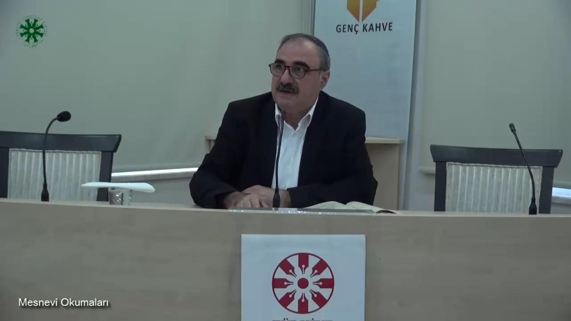 Mesnevî Okumaları -34- Doç. Dr. Yakup Şafak