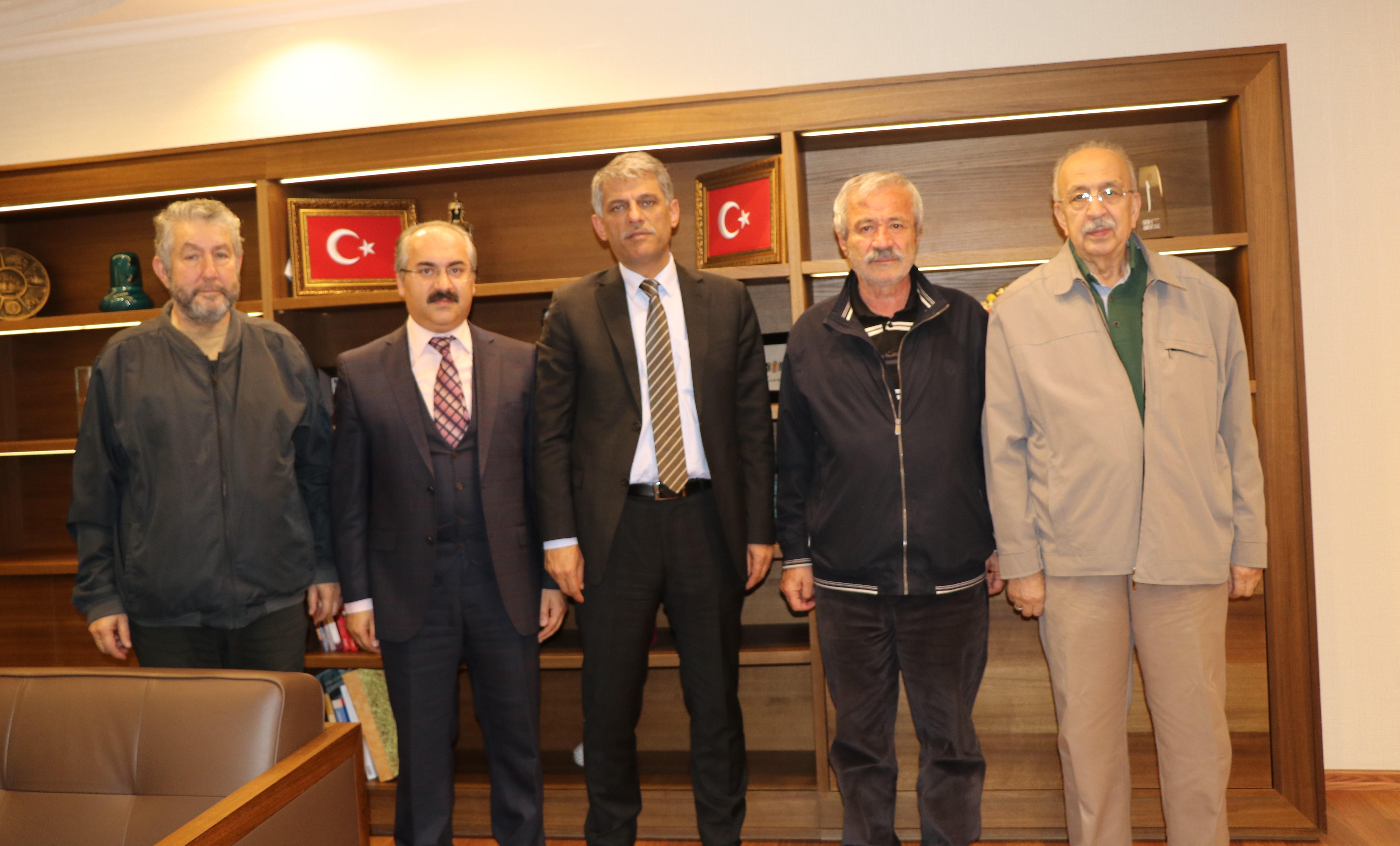 D. Mehmet Doğan, Bakan Yardımcısı Nadir Alpaslan'ı Ziyaret etti