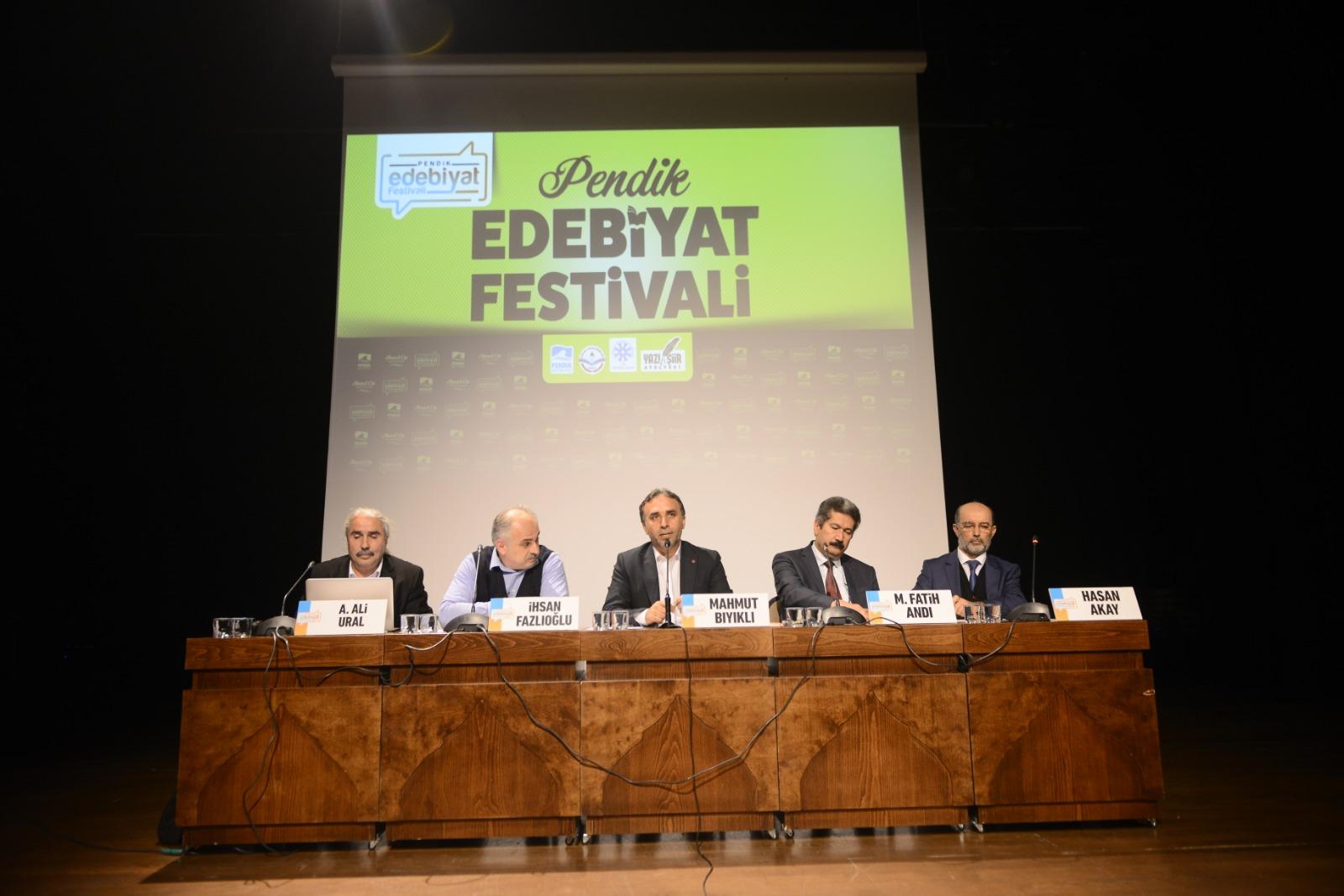 Pendik Edebiyat Festivali Başladı