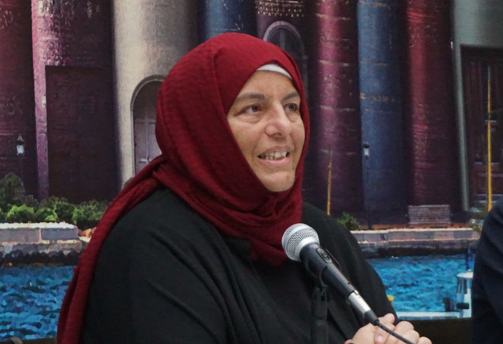 Sibel Eraslan TYB İstanbul'da Konuştu