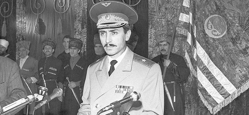 Milyon birinci general Cevher Dudaev