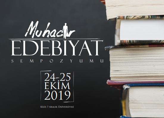"""Kilis'te """"Muhacir Edebiyat Sempozyumu"""" bugün başlıyor"""